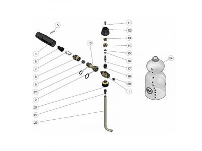 Схема пенной насадки LS3 PA ver.2